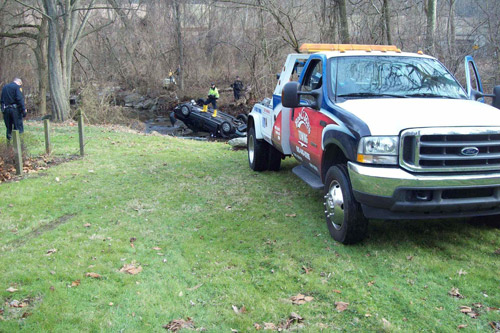 Our collision towing specialists can handle even the most difficult tows