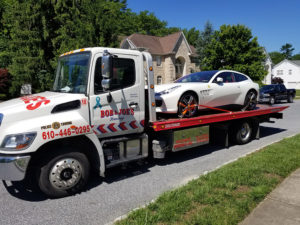 exotic car tow