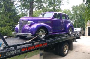 custom car tow